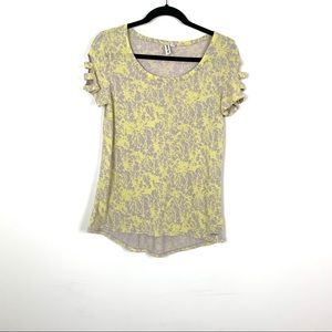 a4332408569ea6 Hang Ten Grey   yellow Top ...